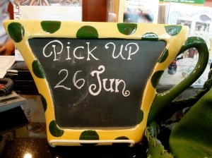 Pick Up Sign