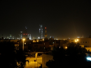 Kuwait City From Our Terrace