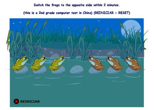 Chinese Frogs Game _ Solve