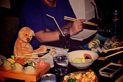 Teddy On The Go - Sushi