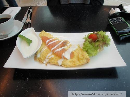 D&D Smoked Salmon Omelet