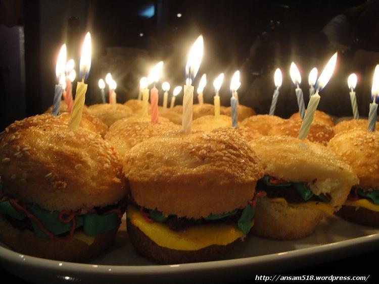 Cheeseburger Themed Birthday Five One Eight