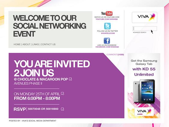 Viva social networking event five one eight the stopboris Gallery